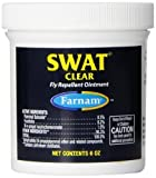 Farnam SWAT Fly Repellent Ointment for Horses, Clear by Farnam