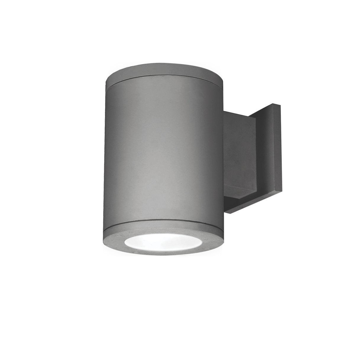 WAC Lighting DS-WS05-F40S-GH Tube Architectural 5 LED Wall Light Straight Flood Beam 4000K in Graphite Single