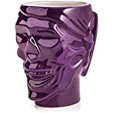SODIAL(R) 2x Crystal Skull Head Glass Vodka Whiskey Shot Cup Drinking Ware Home