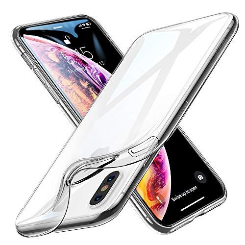 ESR iPhone XS /iPhone X Case, Slim Soft TPU Case Flexible Silicone Cover...