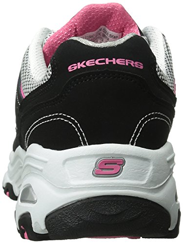 Sneaker Bkwp Start Skechers Donna Black D'Lites Fresh CZzpOwxqF