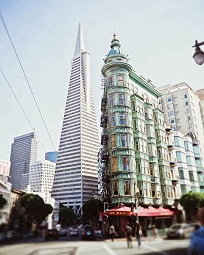 San Francisco Print Cafe Zoetrope Photo 8x10 inch Print