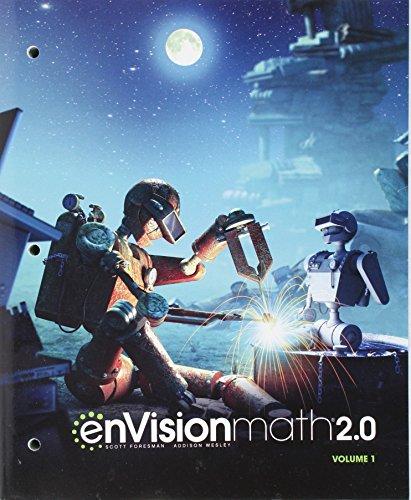 ENVISION MATH 2.0 COMMON CORE STUDENT EDITION GRADE 7 VOLUME 1 COPYRIGHT2017
