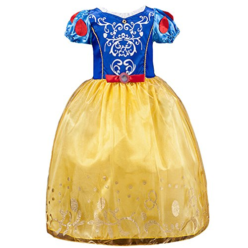 [Girls Princess Sofia Dress Cinderella Costume Bling Ball Dress] (Cinderella Costumes For Girl)
