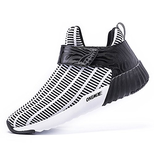 Trainers Gym Sport Breathable top Onemix White Zebra adults' Unisex Shoes Running Series Black Mid xxvPIqU