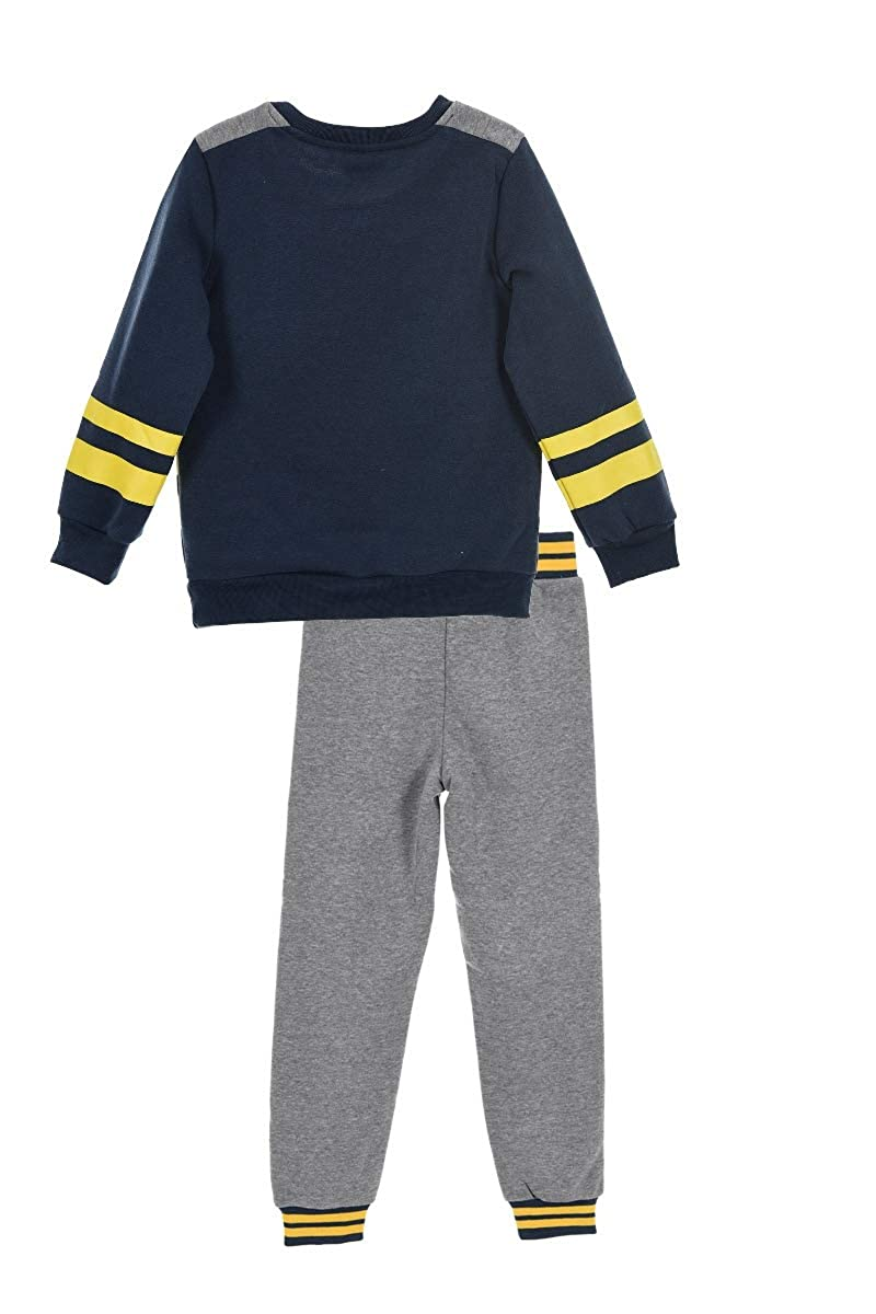Paw Patrol Chase and Rubble Boys Tracksuit Jumper and Joggers Outfit