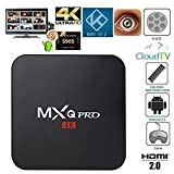 Generic MXQ Pro Android TV Box Amlogic S905X Quad Core 17.4 Krypton Pre installed Full Loaded Android 6.0 OS TV Box 1G/8G 4K Streaming Media Players with WiFi