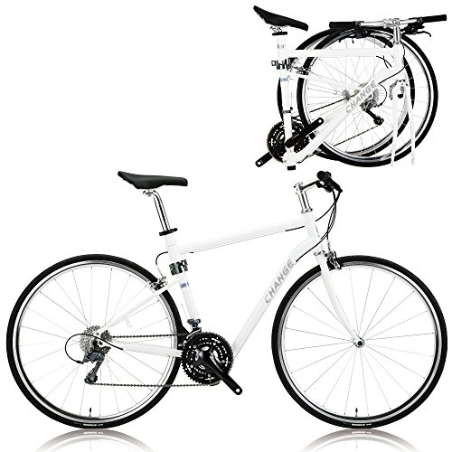 Cheap CHANGE Lightweight Full Size Road Folding Bike Shimano 24 Speeds DF-702W (520 mm)