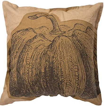 18-Inch Square Primitives by Kathy Cotton My Happy Place Throw Pillow