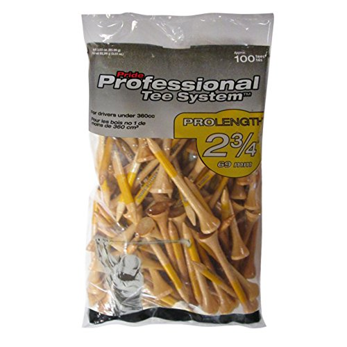 - Pride Professional Tee System, 2-3/4 inch ProLength Tee