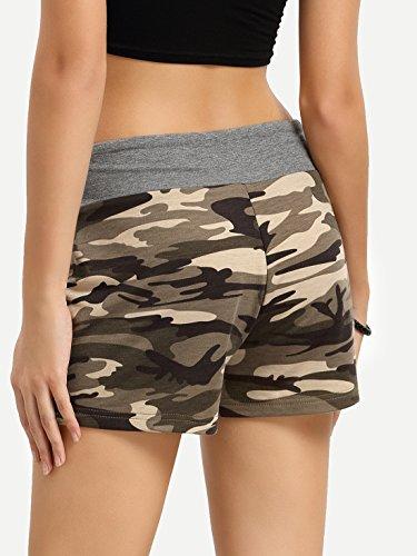 SweatyRocks-Camouflage-Womens-Workout-Yoga-Hot-Shorts