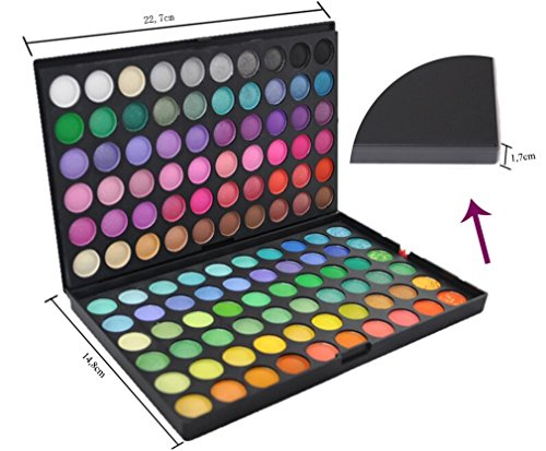 Jmkcoz Eye Shadow 120 Colors Eyeshadow Eye Shadow Palette
