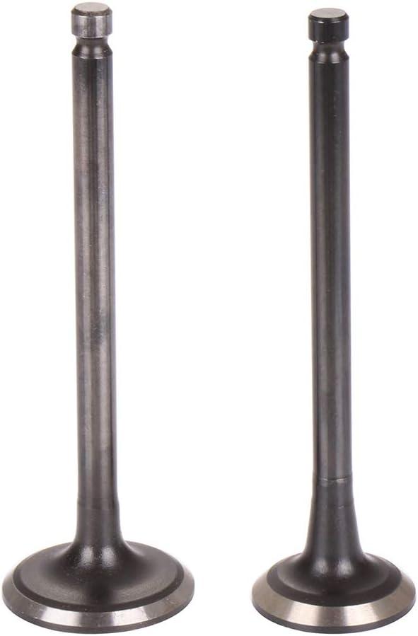 OCPTY 8 Intake Valve and 8 Exhaust Valves I3468,E3463 Replacement for 1996-2011 Hyundai Accent Kia Rio 1.5L 1.6L DOHC 16v