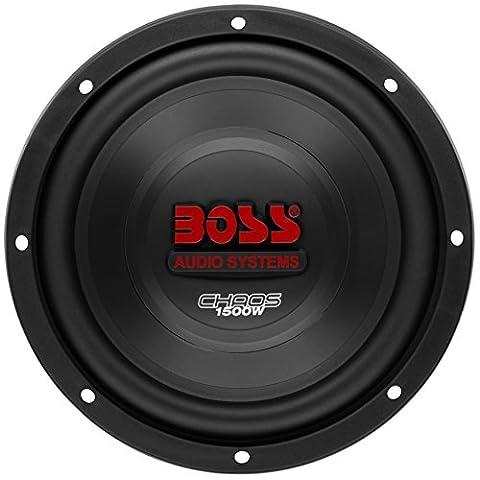 BOSS Audio CH10DVC 1500 Watt, 10 Inch, Dual 4 Ohm Voice Coil Car Subwoofer (10 Inch Boss Subs)