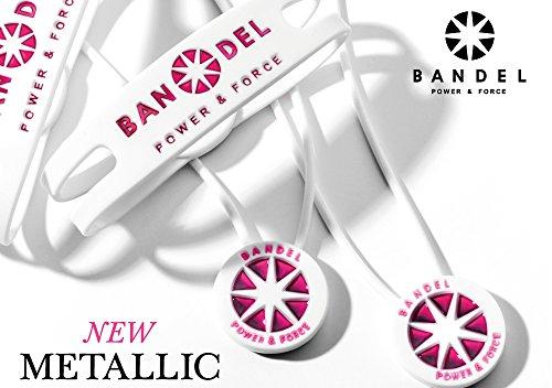 BANDEL 반델 【Metallic Bracelet】메탈릭 팔찌【정규품】파워 가공・재팬 테크놀로지
