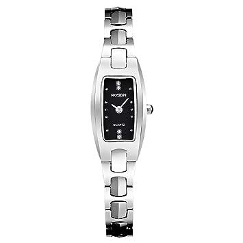 Amazon.com: DLT Lady Reloj de cuarzo cuadrado Bradshaw ...