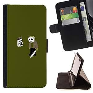 Momo Phone Case / Flip Funda de Cuero Case Cover - Venerdì 12 13 Jason - Divertente MemeViernes 12 13 Jason - Funny Meme - Samsung Galaxy J3 GSM-J300