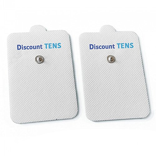TENS Electrodes Compatible with Omron - 10 (5 Pair) XL Premium Omron Compatible Replacement Pads for TENS Units - XL Omron Compatible TENS Unit Electrodes - Discount TENS Brand