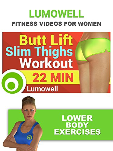 Exercise Products : Fitness Videos for Women: Butt Lift and Slim Thighs Workout - Lower Body Exercises