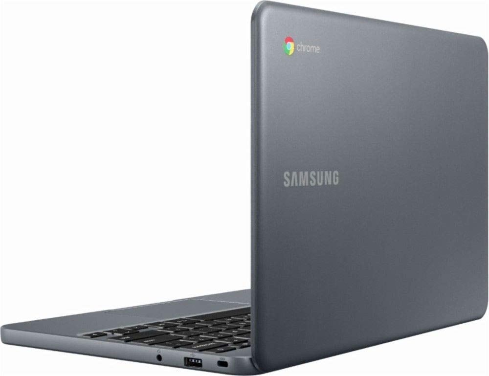 Samsung Chromebook 3 XE501C13-K01US, Intel Dual-Core Celeron N3060, 11.6'' HD, 2GB DDR3, 16GB eMMC, Night Charcoal by Samsung (Image #3)