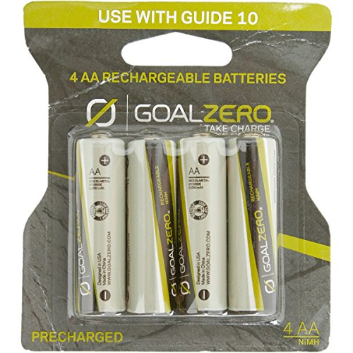 Goal Zero Rechargeable Batteries for Guide 10 – 4-Pack One Color, One Size