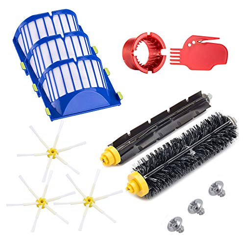 Neutop Parts Accessories Upgraded Replacement Kit for iRobot Roomba 600 Series 614 618 620 621 630 635 640 650 652 660 665 671 680 690 695 Robotic Vacuum Cleaners