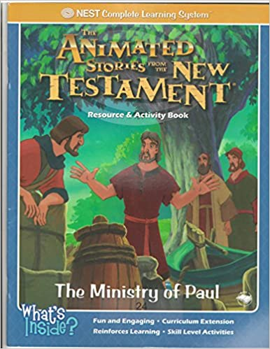 Book The Ministry of Paul The Animated Stories From the New Testament Activity & Resource Book (The Anima