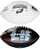 #8: Philadelphia Eagles Super Bowl LII 52 Champions Rawlings Full Size Football