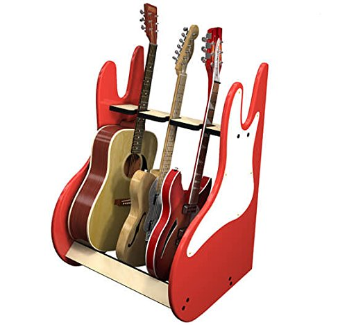 RetroRack Deluxe 3 Guitar Stand by A&S Crafted Products (Image #3)