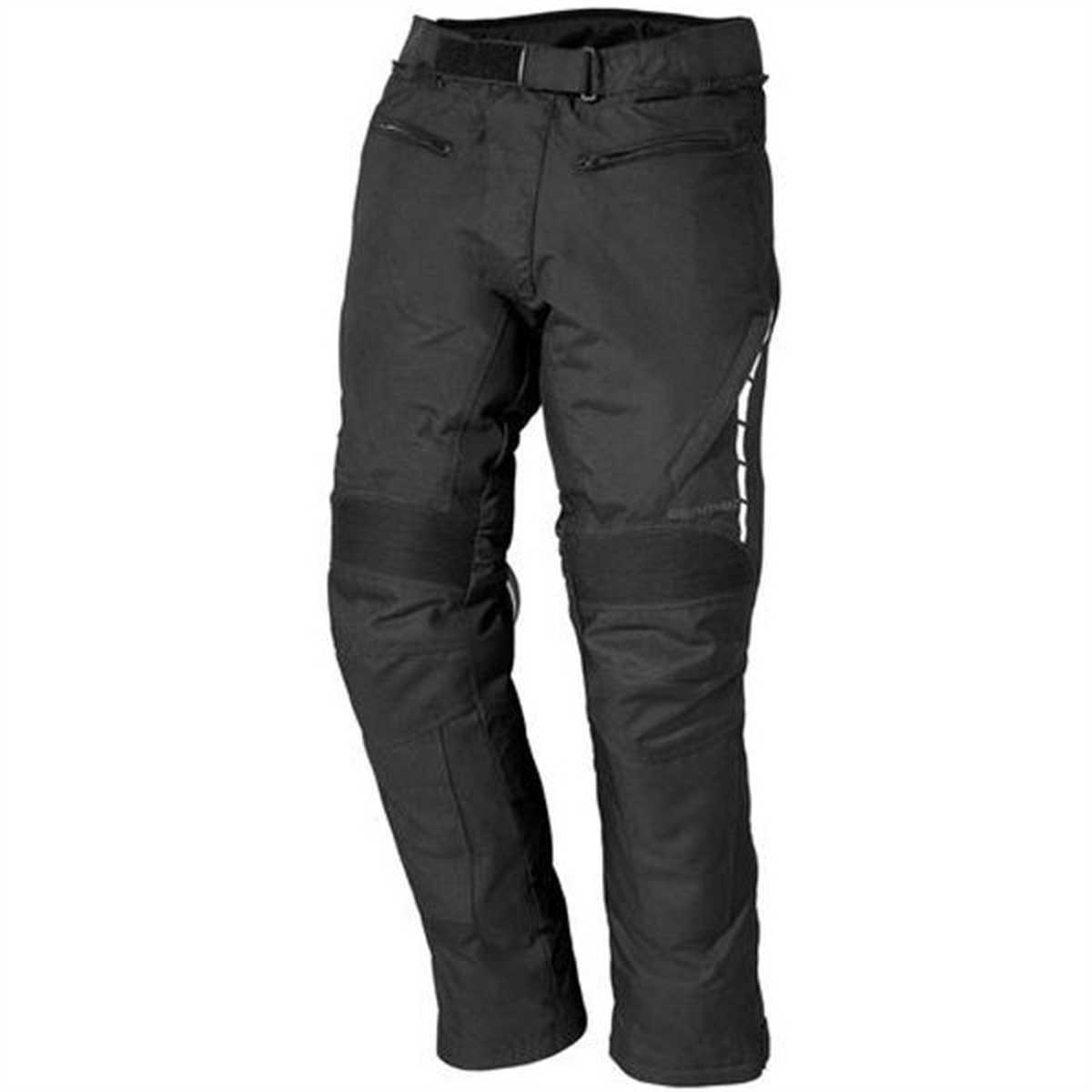 Farbe schwarz Gr/ö/ße XL Germot Evolution II Textilhose