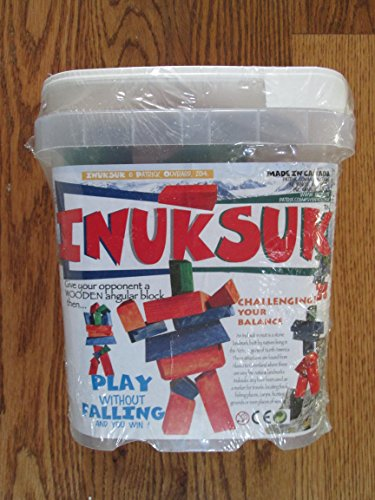 Inuksuk Book - Patrix INUKSUK Game--Stack The Angular Blocks!