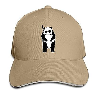 Cool Hunting Bears Custom Sandwich Peaked Cap Unisex Baseball Hat