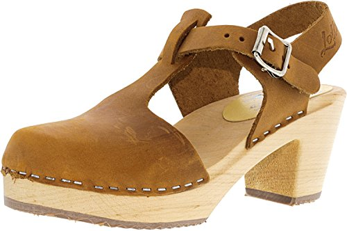Women's Stockholm Highwood Nubuck Oiled T Ankle High Clogs From Lotta Bar BwE5APq