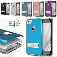 iPhone 7 Case, Zizo [Elite Series] with FREE [iPhone 7 Screen Protector] Shockproof Protection with Built-in[Magnetic Kickstand] Apple iPhone 7