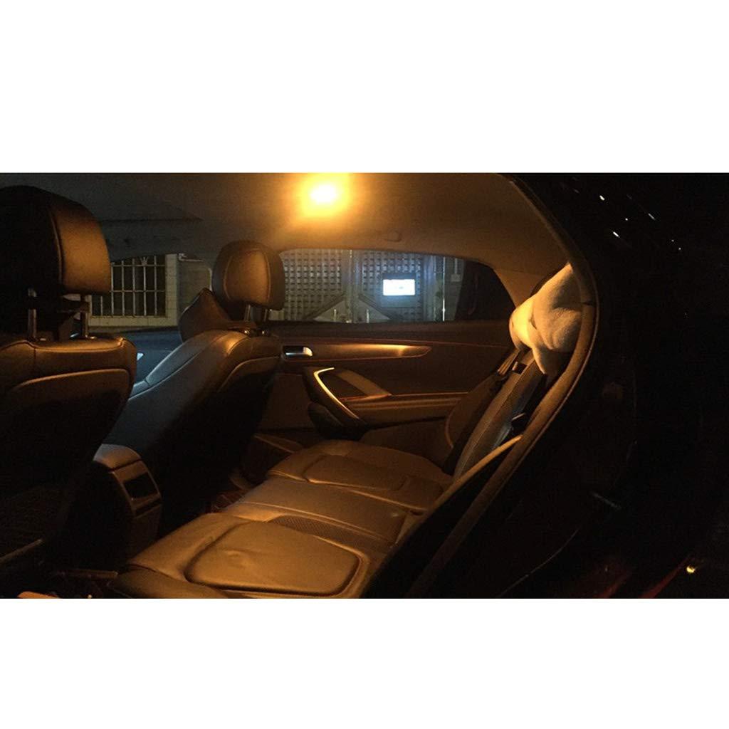 4 ST/ÜCKE Auto Innenraum LED Dome Gl/ühbirnen Vorne und Hinten Oberen Leseleuchten f/ür Wrangler (Wei/ßes Licht)