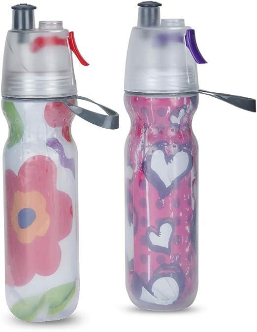 MZNI Botella de Agua Potable - Botella de Agua Tritan - 500 ml ...