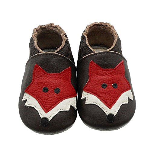 Pictures of YIHAKIDS Soft Sole Baby Shoes Toddler Leather 6