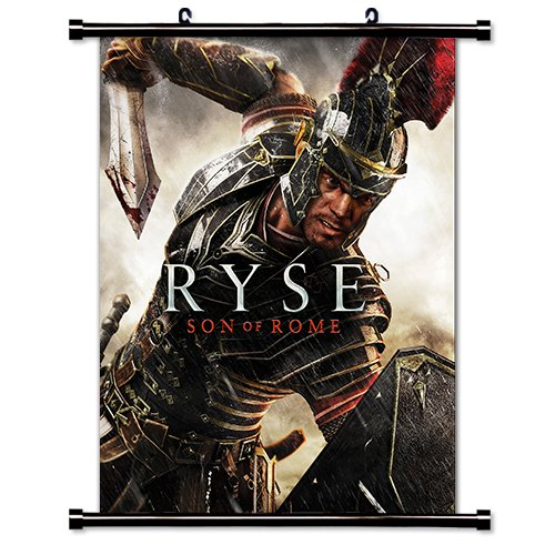 Price comparison product image Ryse Son of Rome Game Fabric Wall Scroll Poster (16x20) Inches