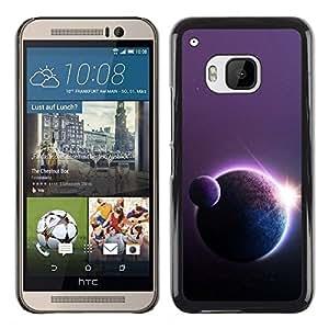 Stuss Case / Funda Carcasa protectora - Planets Sun Art Star Row Space Universe Cosmos - HTC One M9