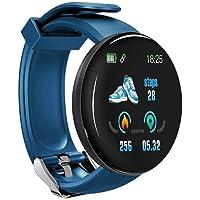 Almencla Smartwatch, fitnesshorloge, armband, fitnesstracker, sporthorloge met IPS, 1,30 inch, hartslagmeter…