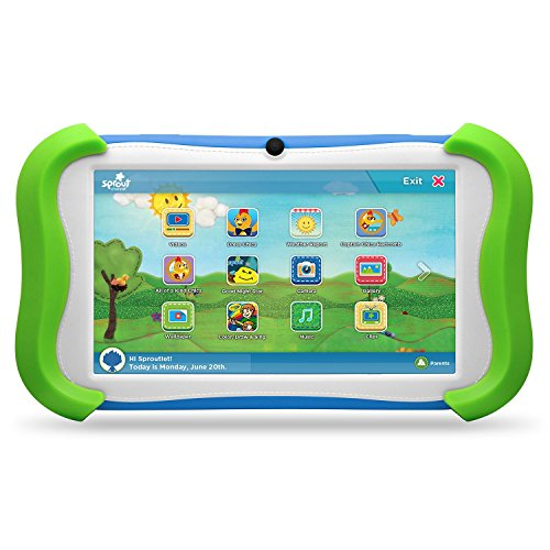 7'' Sprout Channel Cubby Kid-Friendly Tablet - 16GB by MegaDeal