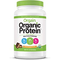 Orgain Organic Plant Based Protein Powder, Chocolate Peanut Butter - Vegan, Low Net Carbs, Non Dairy, Gluten Free…