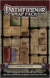 Pathfinder Map Pack: Urban Sites