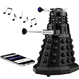 Doctor Who Dalek Merchandise | Fametek Bluetooth Speaker - Plays Music, Lights Up, Sounds Effects | Unique Gifts for Men - Great for Dad Birthday Gifts Anniv. Gadgets Merch Toy Geek Nerd Collectibles