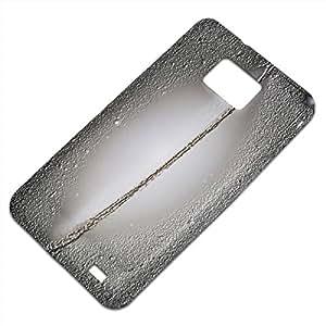 Espacio 10041, Embossed Caso Carcasa Funda Duro Gel TPU Protección Case Cover, Diseño con Textura en Relieve para Samsung S2 i9100 i9200.