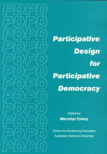 Participative Design for Participative Democracy.