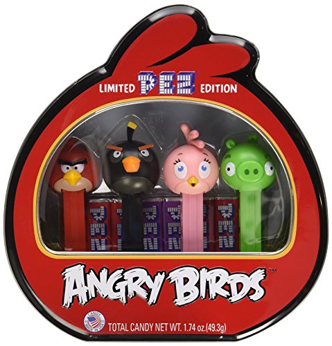 PEZ Angry Birds Gift Tin, 1.74 Ounce