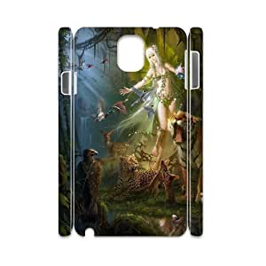 Samsung Galaxy Note 3 Case 3D Fairy Sexy Girl Animal in the Forest Yearinspace YS563067