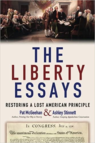 the liberty essays restoring a lost american principle pat  the liberty essays restoring a lost american principle pat mcgeehan ashley stinnett 9781537411156 com books