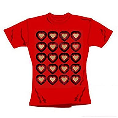 a9934d1e36f74e Official Merchandise Alice IM Wunderland - Rote Königin - Offizieles Damen T -Shirt - Rot